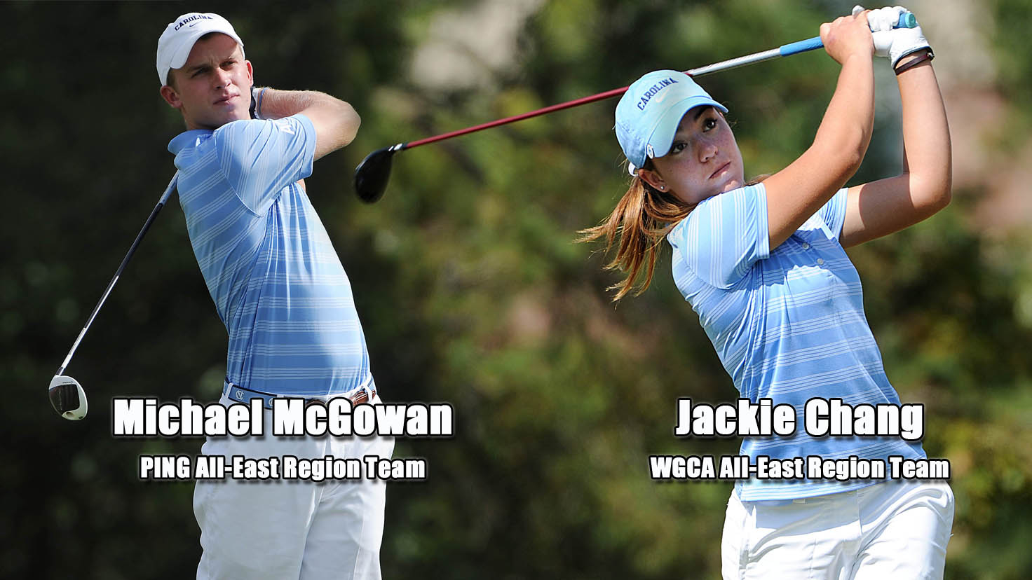 Golfers Selected To All Region Teams University Of North Carolina