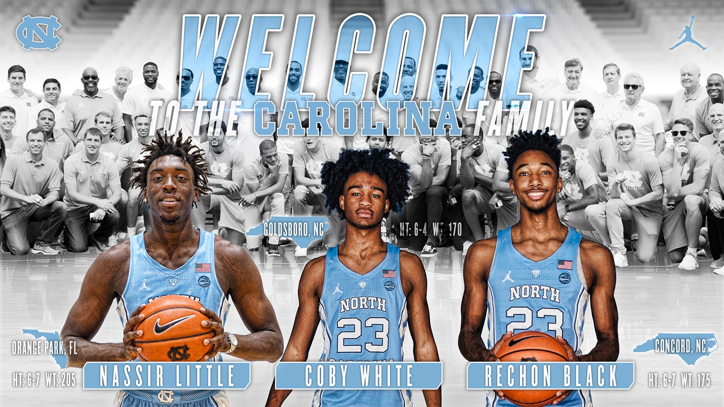 tar heels sign trio for 2018-19 - university of north carolina athletics