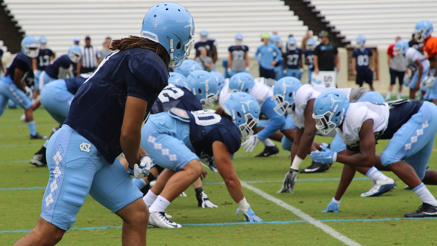 Goheels Exclusive Big Plays Define Second Scrimmage University Of