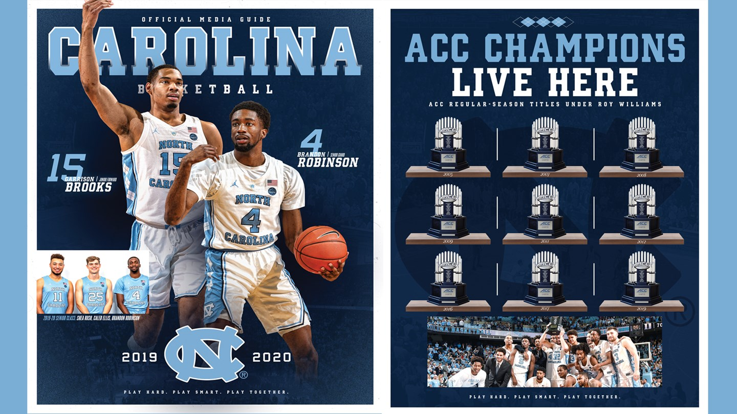 Unc Basketball Schedule 2020.2019 20 Media Guide Now Available Online University Of