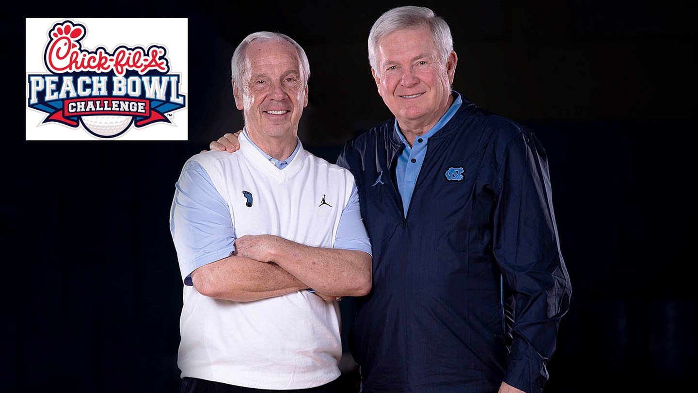 Mack Brown and Roy Williams to Compete in 2019 Chick-fil-A Peach