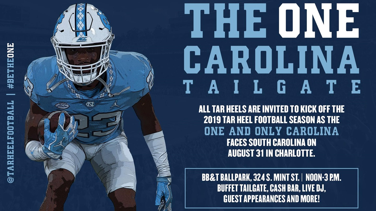 Prepare for the Belk College Kickoff at the ONE Carolina Tailgate