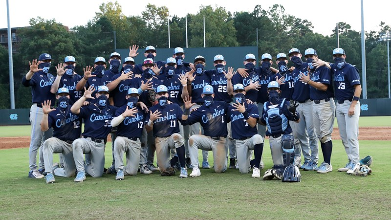 Navy Squad Completes 5-Game Sweep To Win UNC Fall World Series