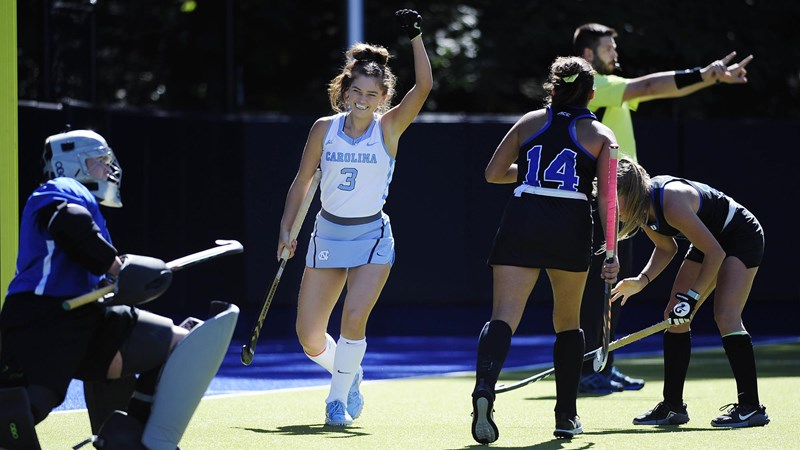 UNC Field Hockey Beats Duke In OT, 5-4