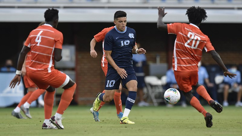 UNC Men's Soccer Holds At No. 5 In Coaches Poll