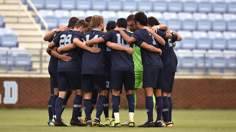 UNC Men's Soccer Hosts Wake Forest Monday With College Cup Berth On The Line