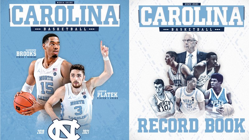 UNC Men's Basketball Media Guide & Record Book Now Available
