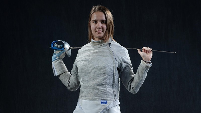 UNC Fencer Jackie Litynski Nominated for 2020 NCAA Woman of the Year Award