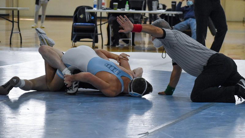 No. 14 UNC Wrestling Begins Season With 45-0 Win Over Gardner-Webb
