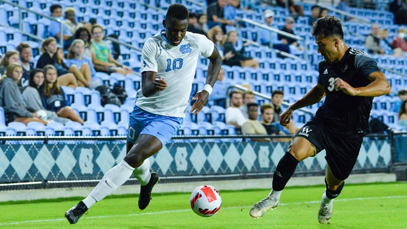 UNC Men's Soccer Downs Wofford, 1-0