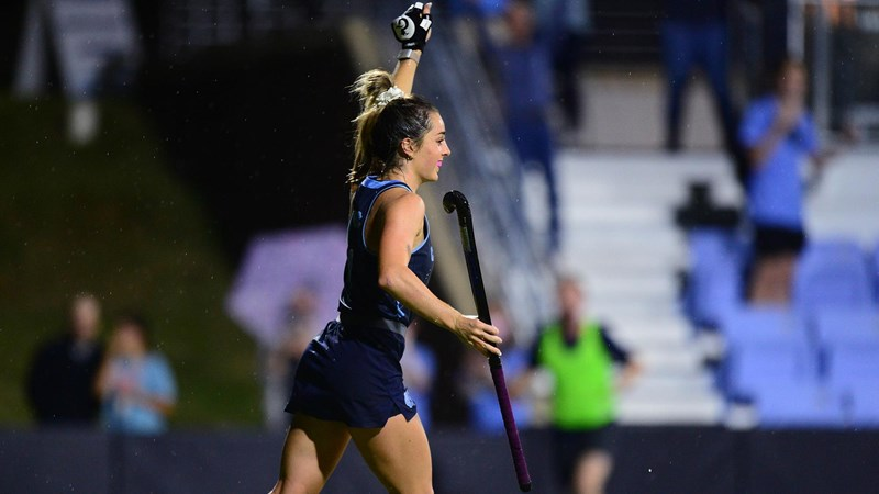 Milestone Hat Trick Leads To Third ACC Honor For Erin Matson