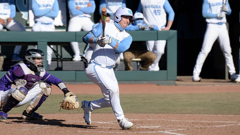 UNC Baseball Completes Series Sweep Of No. 8 Louisville