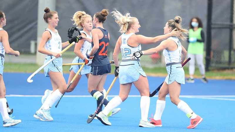 No. 1 UNC Field Hockey Wins At No. 12 Virginia In Overtime