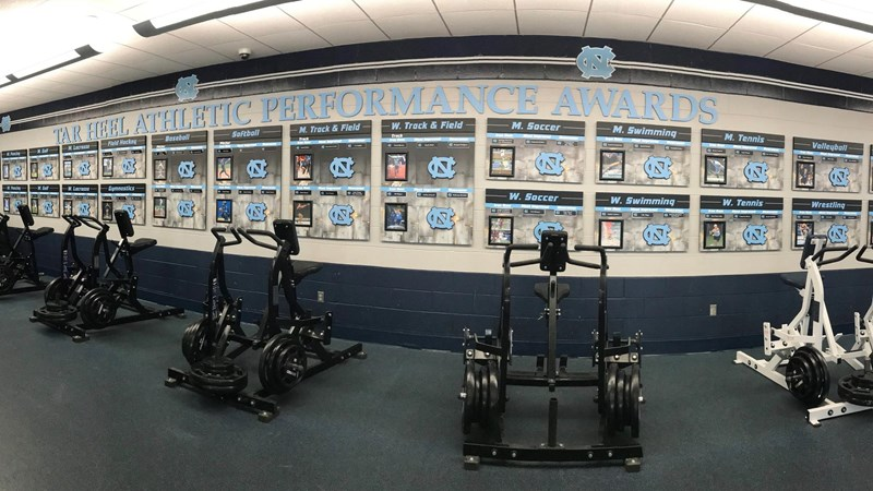 UNC Strength and Conditioning Staff Announces Team Award Winners