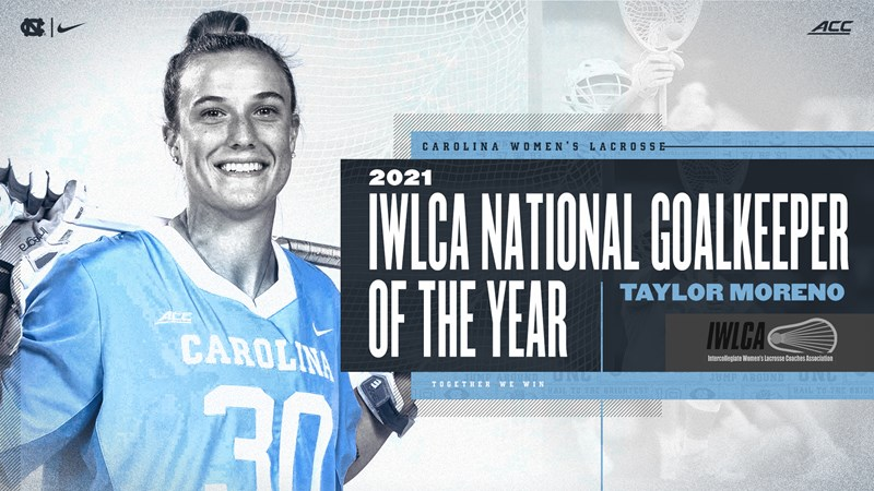 Taylor Moreno Named Women's Lacrosse National Goalkeeper Of The Year