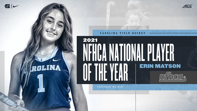 Erin Matson Named NFHCA National Player Of The Year