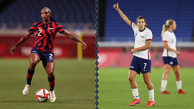 Crystal Dunn, Tobin Heath Win Olympic Bronze Medal With USWNT