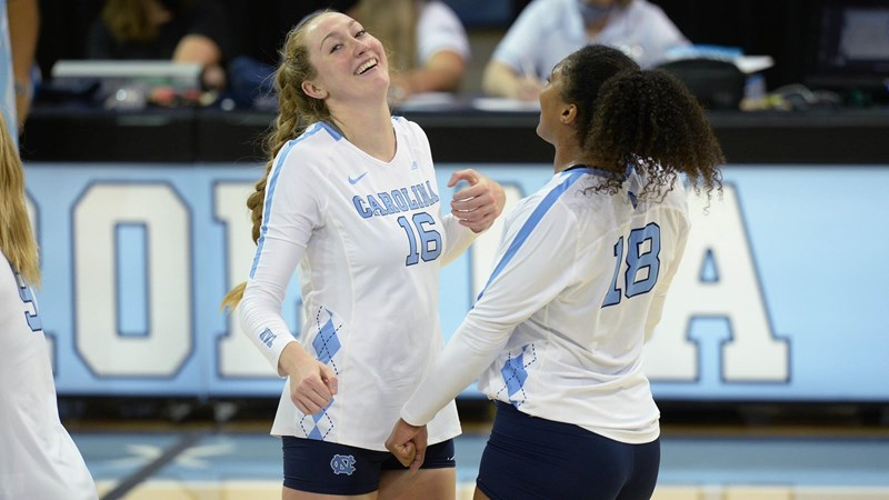UNC Volleyball Remains Undefeated At 9-0 With Sweep Of Elon