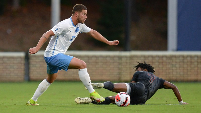 No. 11 UNC Men's Soccer Travels To Virginia For ACC Weekend Matchup