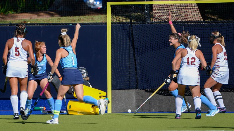 No. 7 UNC Field Hockey Opens ACC Play With 6-1 Win Over No. 5 Boston College